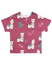 ALPACA MOOD All-over T-Shirt front
