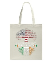 American Grown Irish Roots Tote Bag thumbnail