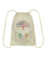 American Grown Irish Roots Drawstring Bag thumbnail