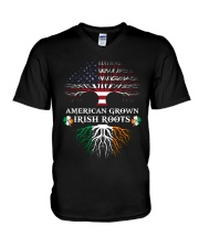American Grown Irish Roots V-Neck T-Shirt thumbnail
