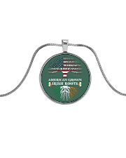 American Grown Irish Roots Metallic Circle Necklace thumbnail