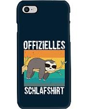 Schlafshirt Pyjama Schlafanzug Nachthemd Faultier  Phone Case thumbnail