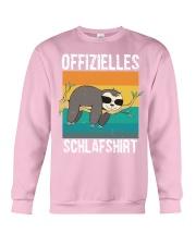 Schlafshirt Pyjama Schlafanzug Nachthemd Faultier  Crewneck Sweatshirt thumbnail