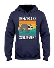 Schlafshirt Pyjama Schlafanzug Nachthemd Faultier  Hooded Sweatshirt thumbnail