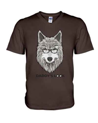 Daddy's Look Wolf Alpha dad Father's day Gift 2020
