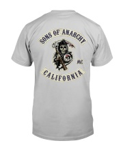 Sons Of Anarchy Classic T-Shirt back