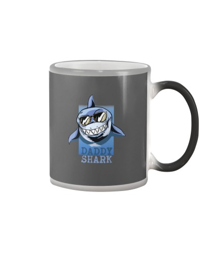 Father's Day Daddy shark Gift for Dad