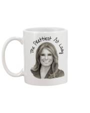 Melania The Prettiest 1st Lady Mug back