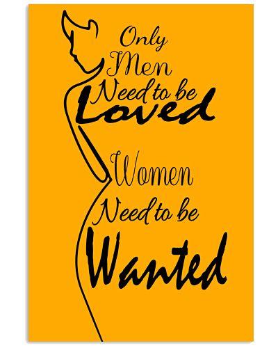One line art women's need from men