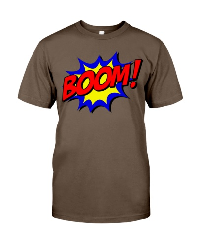 Boom party funny design