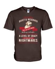 Labrador T-shirt V-Neck T-Shirt thumbnail