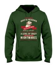 Labrador T-shirt Hooded Sweatshirt front