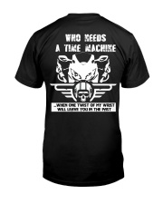 Who needs a time machine Premium Fit Mens Tee thumbnail