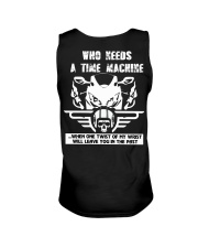 Who needs a time machine Unisex Tank thumbnail