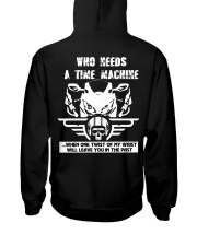Who needs a time machine Hooded Sweatshirt thumbnail