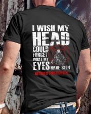 Firefighter Shirt - Retired Firefighter Classic T-Shirt lifestyle-mens-crewneck-back-2