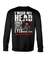 Firefighter Shirt - Retired Firefighter Crewneck Sweatshirt thumbnail
