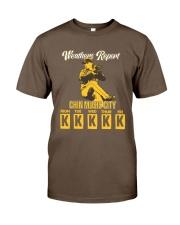 Chin Music City Classic T-Shirt front
