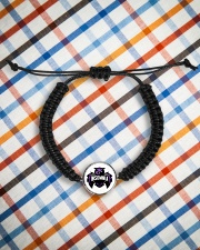 Geormète for insomnia Cord Circle Bracelet aos-bracelet-cord-front-lifestyle-9