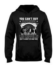listen to rock rock'n roll Hooded Sweatshirt thumbnail
