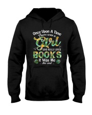 There Was A Girl Who Loved Books Shirt Book Lover Hooded Sweatshirt thumbnail
