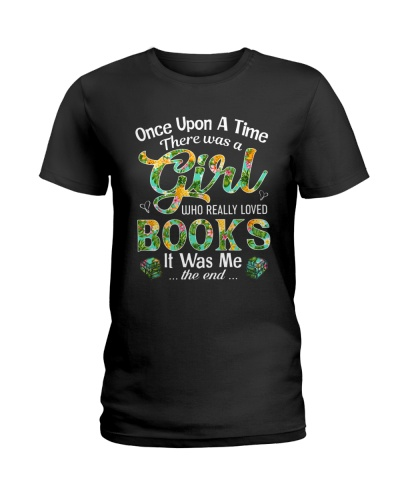 There Was A Girl Who Loved Books Shirt Book Lover