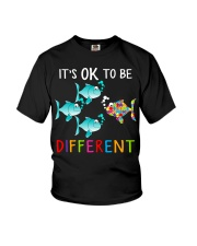 Its ok to be different shirt Youth T-Shirt thumbnail
