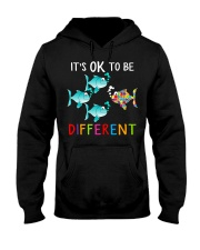 Its ok to be different shirt Hooded Sweatshirt thumbnail