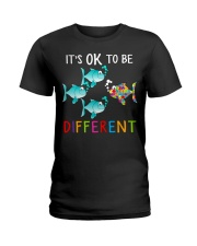 Its ok to be different shirt Ladies T-Shirt thumbnail