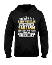 i'm a grumpy old army veteran Hooded Sweatshirt tile