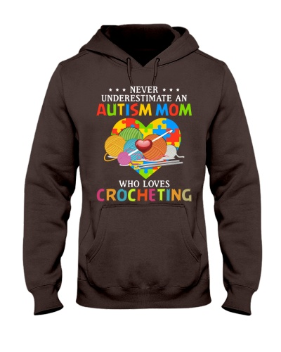 Autism mom loves crocheting