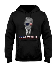 deal with it Hooded Sweatshirt front