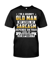 i'm a grumpy old man Premium Fit Mens Tee tile
