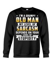 i'm a grumpy old man Crewneck Sweatshirt thumbnail