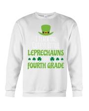 4th Fourth Grade Paddys St Patricks Day Teacher Crewneck Sweatshirt thumbnail