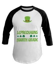 4th Fourth Grade Paddys St Patricks Day Teacher Baseball Tee thumbnail