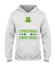 4th Fourth Grade Paddys St Patricks Day Teacher Hooded Sweatshirt thumbnail