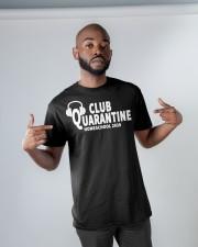 club quarantine home school 2020 Classic T-Shirt apparel-classic-tshirt-lifestyle-front-32