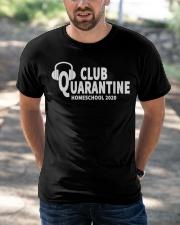 club quarantine home school 2020 Classic T-Shirt apparel-classic-tshirt-lifestyle-front-50