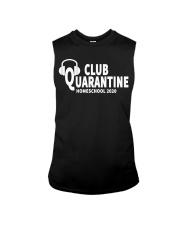 club quarantine home school 2020 Sleeveless Tee thumbnail