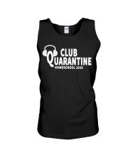 club quarantine home school 2020 Unisex Tank thumbnail