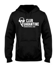 club quarantine home school 2020 Hooded Sweatshirt thumbnail