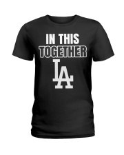 in this together baseball shirt Ladies T-Shirt tile