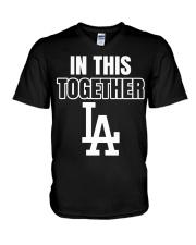 in this together baseball shirt V-Neck T-Shirt thumbnail