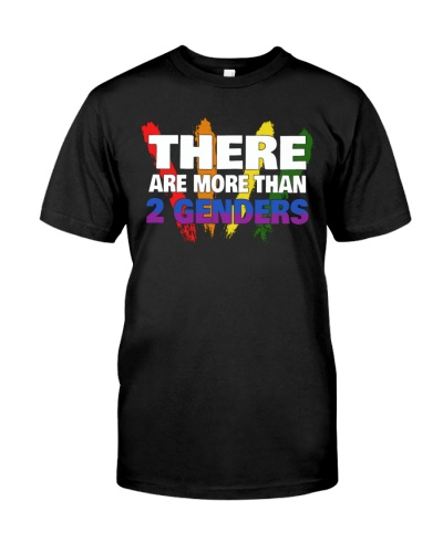 LGBT There Are More Than 2 Genders shirt