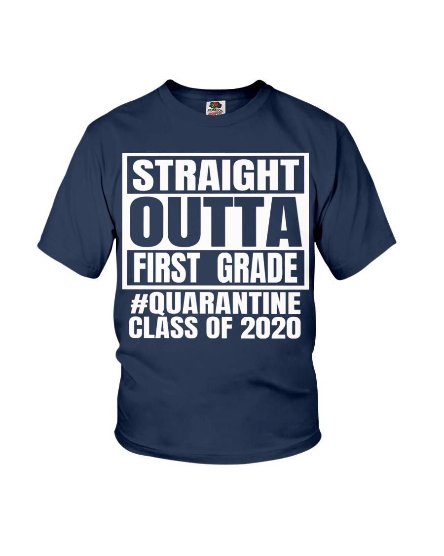 Straight outta first grade Quarantine 2020 shirt Youth T-Shirt