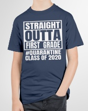 Straight outta first grade Quarantine 2020 shirt Youth T-Shirt garment-youth-tshirt-front-lifestyle-01