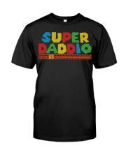 super daddio shirt Fathers day gift for dads Classic T-Shirt front