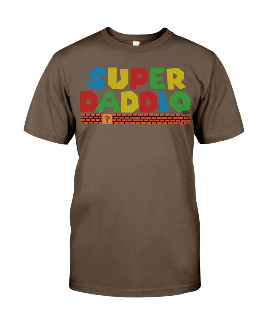 super daddio shirt Fathers day gift for dads Classic T-Shirt