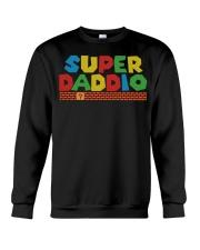 super daddio shirt Fathers day gift for dads Crewneck Sweatshirt thumbnail